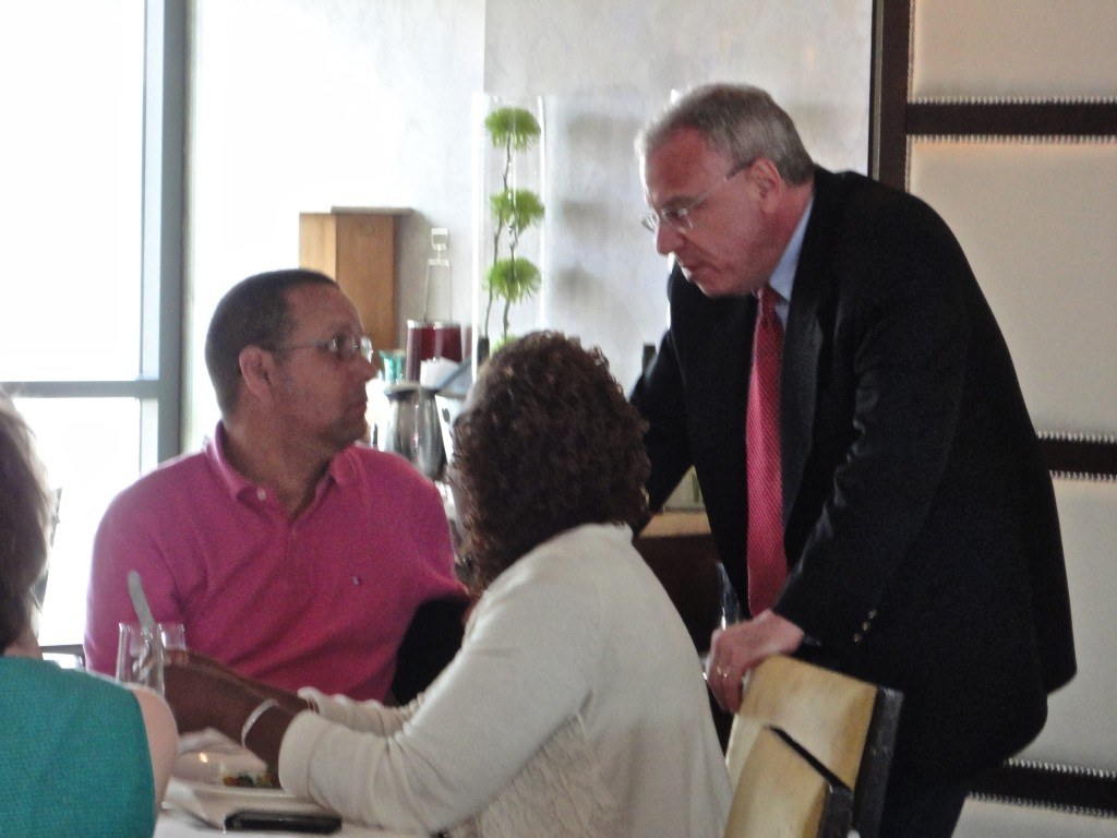 Assemblyman Dinowitz reconnected with ARC members