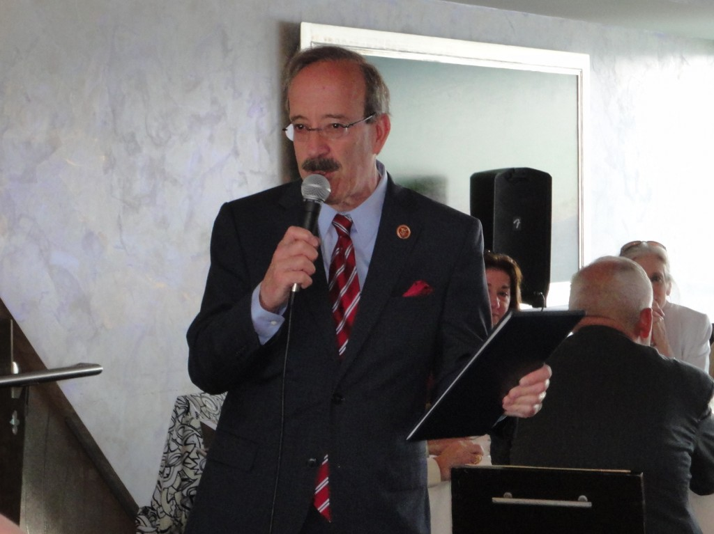 Congressman Eliot Engel honored ARC's accomplishments in the Congressional Record